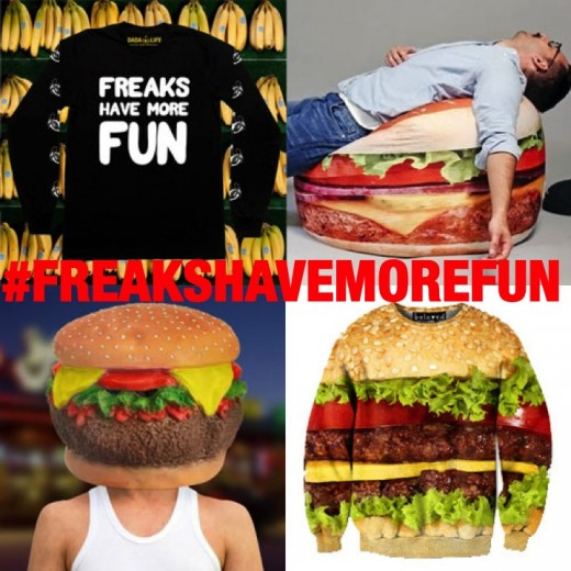 Freaks Have More Fun Prize